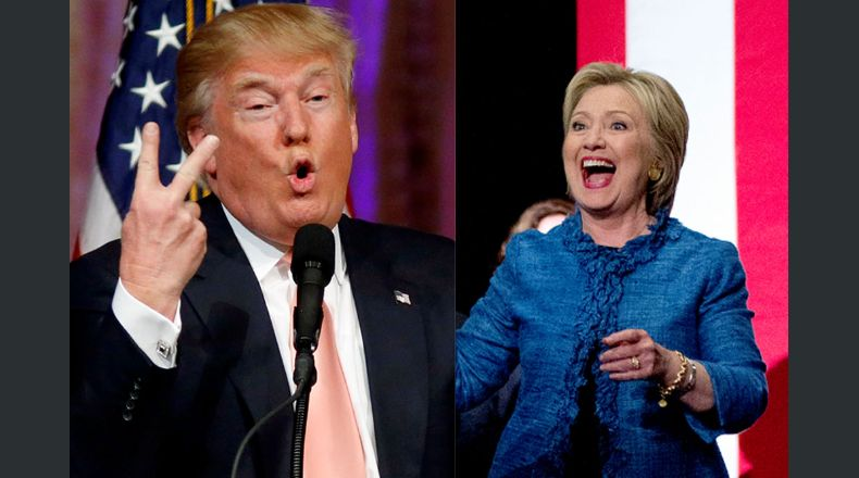 Trump y Clinton logran resonantes victorias en Florida