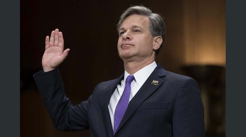 Senado confirma a Christopher Wray como director del FBI