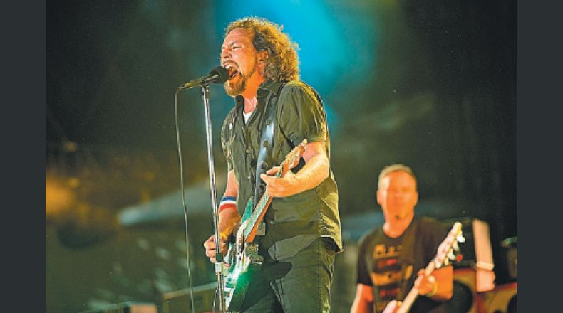 Pearl Jam estará en Chile