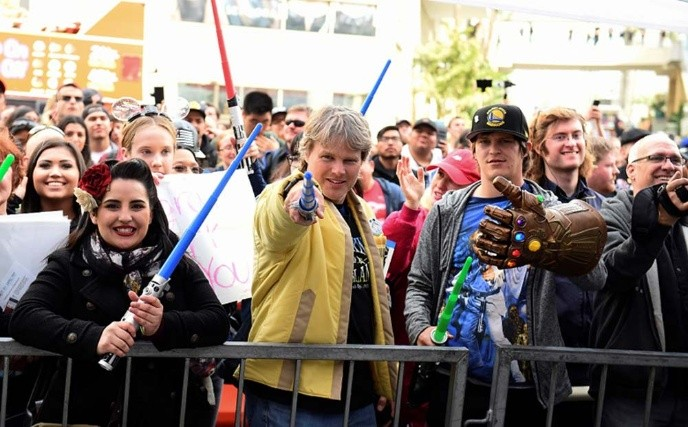 Mark Hamill recibe su estrella en la galaxia de Hollywood